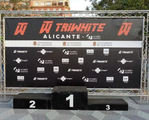Podium Triwhite Alicante