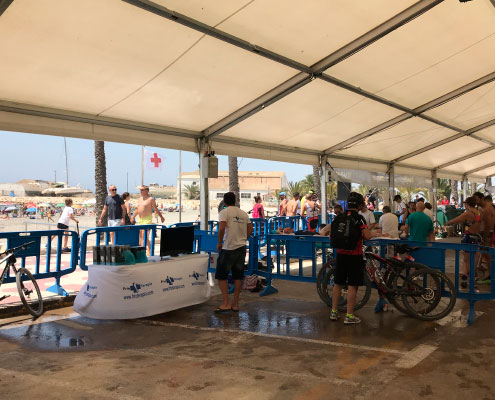 Triatlon Cross Santa Pola Triwhite